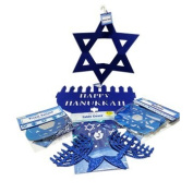 Hanukkah Party Décor 7 Items Pak Hanukkah Decorations