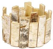 birch slice garland 100cm
