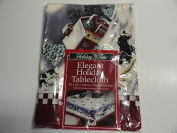 Elegant Holiday Tablecloth