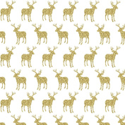 Vinyl Boutique Shop Craft Adhesive Gold Glitter Antler Vinyl Sheets Adhesive Vinyl 0224-11
