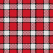 Vinyl Boutique Shop Craft Adhesive Red Plaid Pattern Vinyl Sheets Adhesive Vinyl 0189-6