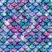 Vinyl Boutique Shop Craft Adhesive Mermaid Tail Patterns Vinyl Sheets Adhesive Vinyl 0168-7