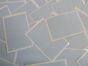 Minilabel 30 Labels, 75X50Mm Rectangular, Pale Pastel Blue, Stickers, Selfadhesive Sticky Dots