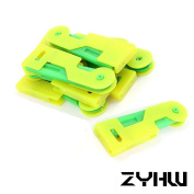 ZYHW Sewing Automatic Needle Threader Thread Guide 8Pcs Green Yellow