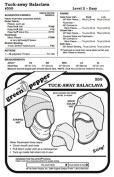 Tuck-Away Balaclava Face Mask Neck Warmer Hat #550 Sewing Pattern