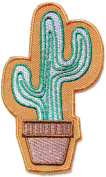 Cactus Logo Kid Baby Jacket T-shirt Patch Sew Iron on Embroidered Sign Badge Costume Clothing BY PANICHA