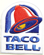 TACO BELL Logo Jacket T-shirt Patch Sew Iron on Embroidered Sign Badge Costume Clothing