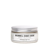 Prospector Co. Brummell Shave Cream, 240mls