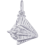 Rembrandt Charms Sterling Silver Conch Shell Charm