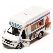 Pullback Action Ice Cream Vending Truck by KinsFun