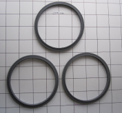 3 Pack Replacement gasket Compatible for Nutri Bullet Grey