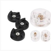 Sduck 3pcs Base Gears & 3pcs blade Gears Replacement Parts for Magic Bullet Blender Juicer Mixer