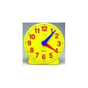 Toy / Game Learning Resources Big Time 12-Hour Demonstration Clock - Help Kids Grasp Time-Telling Skills