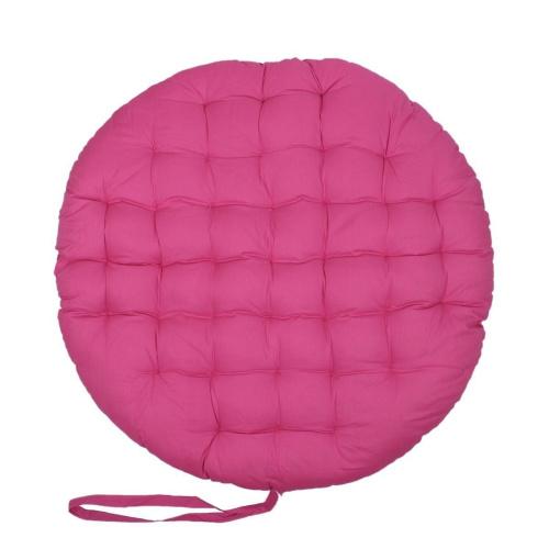 Store Indya Pink Papasan Round Lounge Chair Seat Cushion