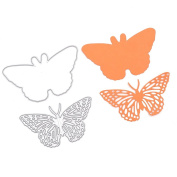 Resting Butterfly Set Cutting Dies Stencil Frame Metal Template DIY Paper Card 1 Pc