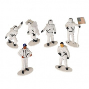 US Toy Plastic Astronaut Toy Figurines (1 Dozen), 5.1cm - 1.3cm by Everready First Aid