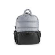 7AM Enfant Brooklyn Bag, Black/Cement