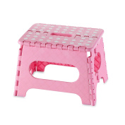 Black Folding Step Stool great for kids and adults