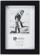 Malden International Designs Black Concept Wood Picture Frame, 8x12, Black