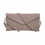 Jieway Women's Faux Suede evening Clutch bag shoulder Handbag messenger envelope bags
