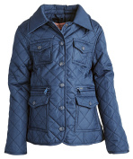 Urban Republic Baby Girls Lightweight Padded Quilted Spring Jacket with Collar