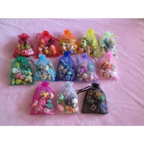 littlest pet shop lps lot random gift grab bag 7