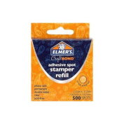Elmers ADHESIVE SPOT STAMPER-LRGE REFILL