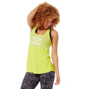 Zumba Fitness Women's Go Team Long Loose Racerback Top