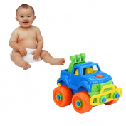 Transer® Toys for Kids - Disassembly Car Truck Design - Baby Educational Intelligence Toy Christmas Gift