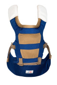 Emma & Noah Baby Carrier, Ergonomic Design for Both Child and Parents (Recommended for 6 to 36 mo., Approved for 3.6 to 15 kg), 3 Front and Back Positions, Colour