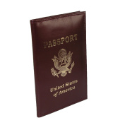 CTM Leather Travel Passport Cover