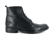 J.Bradford man shoes boots black leather JB-VICTOR