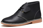 Fangsto Men's Leather Ankle Chukka Boots