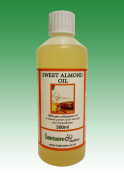 500ml 100% Pure, COSMETIC GRADE, COLD PRESSED SWEET ALMOND OIL