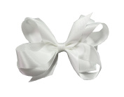 PrettyBoutique 15cm Girls Large Ribbon Boutique Ponytail Hair Bun Bow Clips Accessories