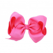 1Pc Kids Girls Large Bow Alligator Knot Ribbon Hair Clip Accessories