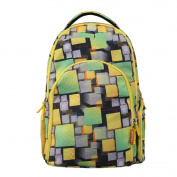 Baby Nappy Bag - Smart Organiser Large Capacity Nappy Backpack with 3 Insulated Pockets
