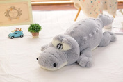 Kenmont Cosy Crocodile Pillow || Arm Support Pillows || Sleeping Stuffed Animal Plush Soft Toys Dolls Car Chair Seat Bed Cushion