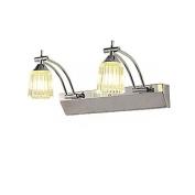 Modern Adjustable Crystal LED Mirror Lights Simple Bbathroom Washroom Wall Lamp Bedroom Hallway Wall Light