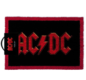 Men Women Man Woman Ladies Lady Gents Him Her - Great Idea For Legendary Rock Memorabilia - AC/DC Emblem Door Floor Welcome Mat - Perfect for Secret Santa Stocking Fillers Xmas Christmas Birthday Valentines Anniversary Gift Present Idea - One Supplied