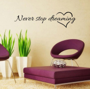 Tefamore Inspiring discourse Mural Home Room Decor Wall Stickers