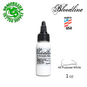 Skin Candy Bloodline Tattoo Ink (30ml, All Purpose White) KD-103
