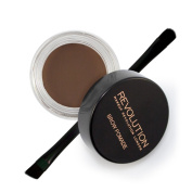 Makeup Revolution Brow Pomade With Brush - Dark Brown