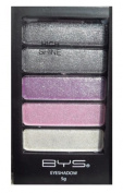 BYS 5 Piece EyeShadow Palette - 17 High Shine Galaxy