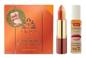 'IKOS Original Egyptische Erde Naturell 7g with Duo Lipstick - Orange and Lip Balm