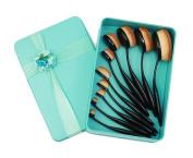 JollyChic Women's Oval Makeup Concealer Foundation Powder Brush Set 10 Pcs