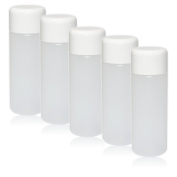 NAILFUN 5 Empty HDPE Bottles with Screw Cap 100 ml