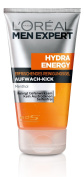 L 'Oreal Men Expert Hydra Energy - Care Gift Set with Hydra Energy Refreshing Cleansing Gel With Full Sleep Wake compatibility. + Hydra Energy 24 Hour Anti Fatigue Moisturiser for Men's