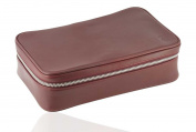 David Hampton Oxford Leather Wash Bag