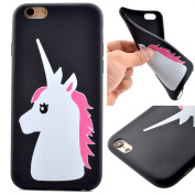 PowerQ _ for IPhone 7Plus IPhone7Plus - unicorn _ Silicone TPU Case Colourful Pattern Series Painting Print Drawing Soft Silicone Cover Cellphone Case mobile Cover Soft Protect Skin